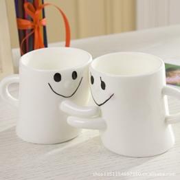 Aidonger Gesicht Paare Cup Tassen Becher Set -