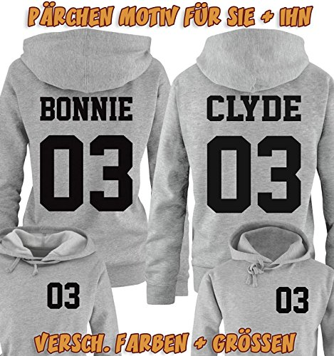 Bonnie & Clyde Pullover Logo