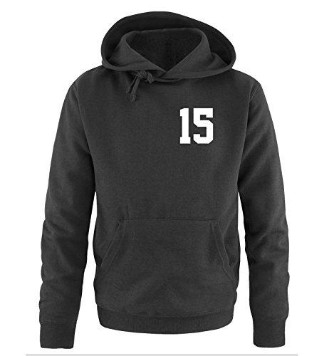 Comedy Shirts - PRINCE 15 - Herren Hoodie - Schwarz / Weiss Gr. S -