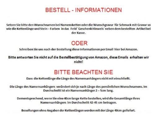 Gebrochene Herz Kette aus 925er Silber - Zwei kostenlose Wunschgravuren! -