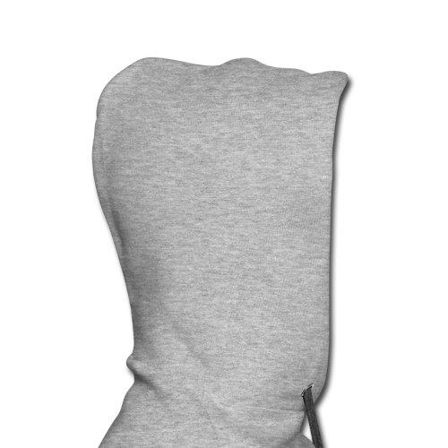 I Love Her Männer Premium Kapuzenpullover von Spreadshirt, L, Grau meliert -