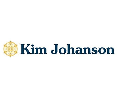 Kim Johanson Pärchen Halsketten für verliebte aus Edelstahl mit doppelten Ringen Silber und Gravur inkl. Schmuckbeutel -