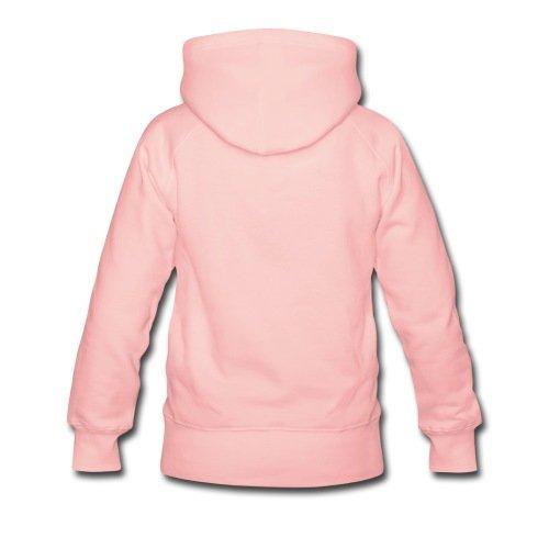 Love Girlfriend Statement Frauen Premium Kapuzenpullover von Spreadshirt® -