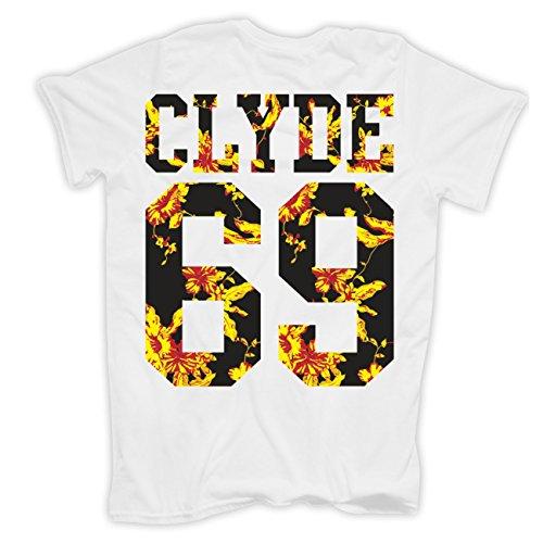 Männer und Herren T-Shirt Bonnie & Clyde Summer (mit Rückendruck) -