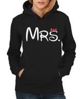 -- Mrs. -- Girls Kapuzenpullover Farbe Schwarz, Größe M -