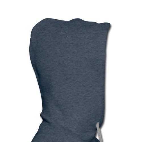 She Is Mine Männer Premium Kapuzenpullover von Spreadshirt, XXL, Jeansblau -