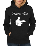 -- She's Mine Girls Only -- Girls Kapuzenpullover Schwarz, Größe S Sale J_J_N -