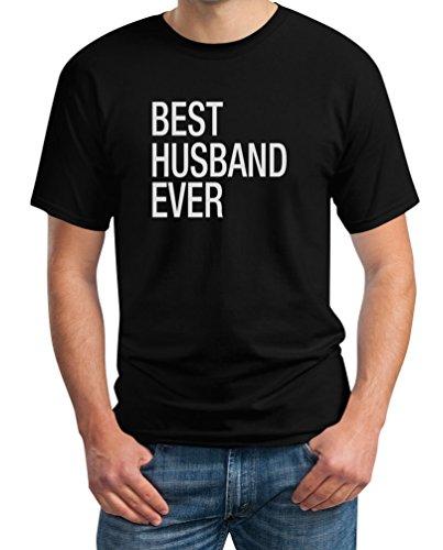 Best Husband Ever Ehemann Geschenk Hochzeit Geburtstag T-Shirt X-Large Schwarz -