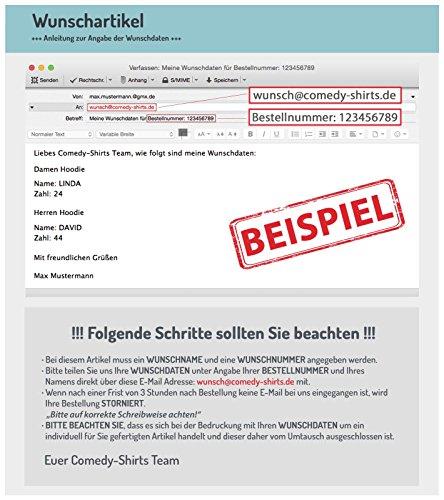 WUNSCH - Damen Hoodie - Schwarz / Weiss Gr. S -