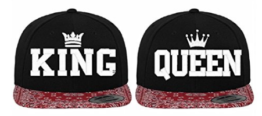 King Queen Caps