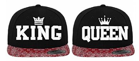 King Queen Caps