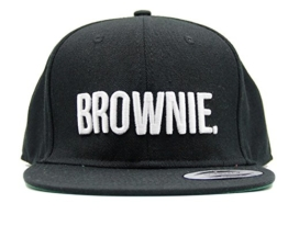 "ASVP Shop Baseball-Kappe mit Stickerei ""Brownie"", Hip-Hop-Mütze, Snapback -"