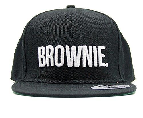 "ASVP Shop Baseball-Kappe mit Stickerei ""Brownie"", Hip-Hop-Mütze, Snapback -"