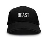 Beast Motiv auf Basecap, Baseballcap, Schirmmütze, Classic, Mütze, stylisches Modeaccessoire, 6-Panel, Unisex , viele Sprüche und Designs, -
