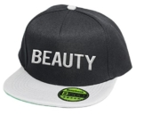 Beauty, Snapback Cap, 5 Panel / Blackgrey -