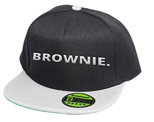 Brownie. | Classic Snapback Unisex / Blackgrey -
