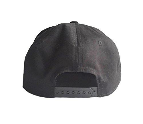 Brownie Cool Swag Hip Hop Druck Snapback Hut Kappe Schwarz -