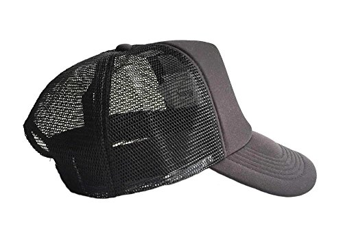 Brownie Cool Swag Hip Hop Druck Trucker Hut Kappe Schwarz -