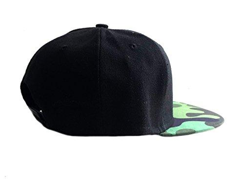 Brownie Tarnung Cool Swag Hip Hop Druck Snapback Hut Kappe Camo -