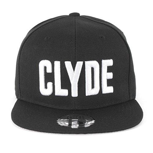 Johnny Chicos Snapback Bonnie & Clyde Cap Schwarz Damen Herren Top, Größe:One Size;Farbe:Clyde -