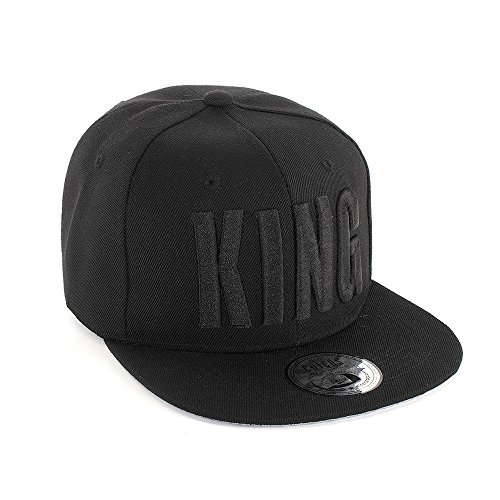Johnny Chicos Snapback Cap KING, QUEEN, MUSIC, Größe:One Size;Farbe:KING -