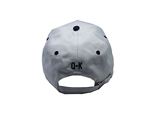 KING & QUEEN BASEBALL CAPS (KING & QUEEN, Weiß) -