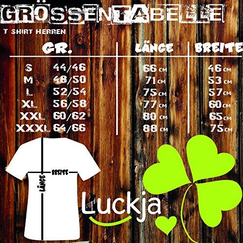 Luckja Wunschname und Wunschnummer Herren und Damen T-Shirts -