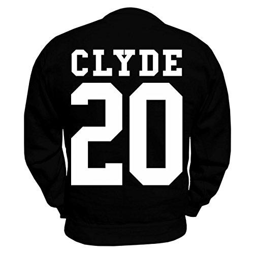 Partner Pullover BONNIE & CLYDE 2017 (mit Rückendruck) -