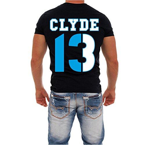 Partnershirt Bonnie & Clyde 13 12 (mit Rückendruck) -