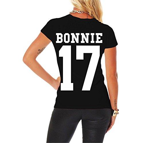 Partnershirt BONNIE & CLYDE 2017 (mit Rückendruck) -