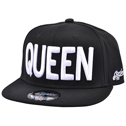 Queen Snapback Cap (Queen Weiß) -
