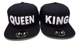 SNAPBACK KING & QUEEN (KING & QUEEN, Schwarz) -