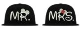 TRVPPY 5 Panel Snapback Cap Modell Mini MRS, Weiß-Schwarz, B610 -