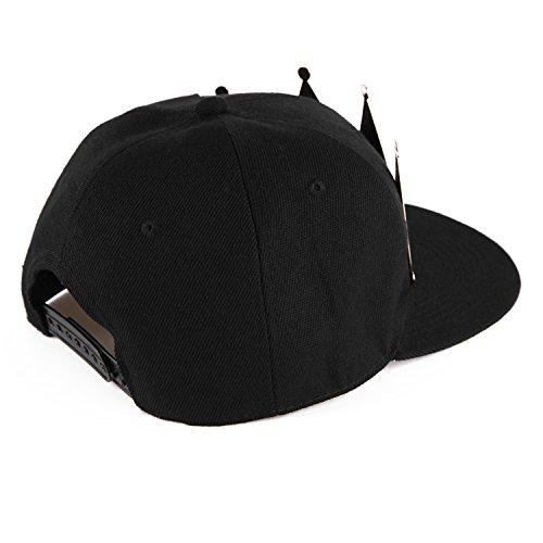 West See Baseball Caps KING & QUEEN Kappen Hut Snapback Partner-Cap (QUEEN) -