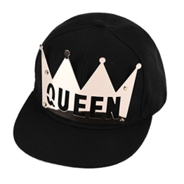 West See Baseball Caps KING & QUEEN Kappen Hut Snapback Partner-Cap (QUEEN) -